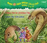 Mary Pope Osborne: Books 44 & 45, A Ghost Tale for Christmas Time, A Crazy Day with Cobras