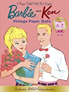 Barbie and Ken Vintage Paper Dolls (Barbie)…