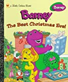 Stephen White: The Best Christmas Eve! (Barney) (Little Golden Books)