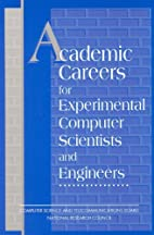 Academic Careers for Experimental Computer…