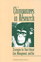 Chimpanzees in research : strategies for…