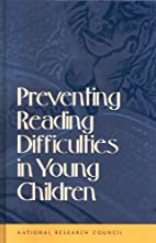 Preventing Reading Difficulties in Young…