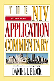 Deuteronomy (The NIV Application Commentary)…