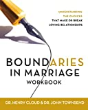 Cloud, Henry: Boundaries in Marriage Workbook