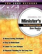 Zondervan 2003 Minister's Tax & Financial…