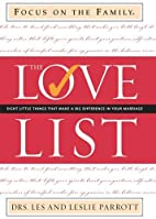 The love list by Les Parrott