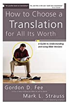 How to Choose a Translation for All Its…