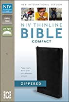 NIV Thinline Zippered Collection Bible,…