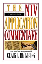 The NIV Application Commentary 1 Corinthians…