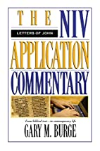 The NIV Application Commentary The Letters…