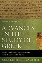 Advances in the Study of Greek: New Insights…