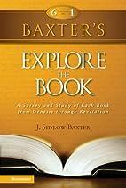 Baxter's Explore the Book - CBD by Zondervan…