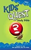 Not Available (NA): Kids Quest Study Bible: New International Readers Version, Real Questions, Real Answers