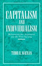 Capitalism and Individualism: Reframing the…