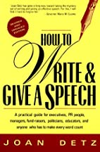How to Write & Give a Speech: A Practical…