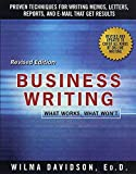 Davidson, Wilma: Business Writing: What Works, What Won&#39;t
