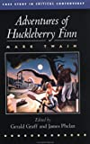 Mark Twain: Adventures of Huckleberry Finn (Case Studies in Contemporary Criticism)
