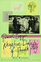 Frank Zappa: The Negative Dialectics of…