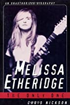Melissa Etheridge by Chris Nickson