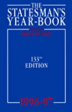 The Statesman's Yearbook by S. H. Steinberg
