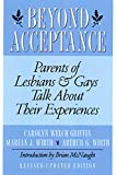Wirth, Arthur G.: Beyond Acceptance: Parents of Lesbians and Gays Talk About Their Experiences