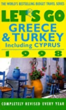 Let's Go 98 Greece & Turkey (Annual) by…