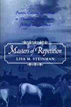 Masters of Repetition: Poetry, Culture, and…