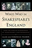 Palmer, Veronica: Who's Who in Shakespeare's England