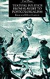Plasa, Carl: Textual Politics From Slavery To Postcolonialism: Race and Identification