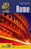 Dewar, Brady R.: Let&#39;s Go 2001 Rome