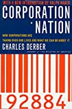 Derber, Charles: Corporation Nation: How Corporations Are Taking over Our Lives and What We Can Do About It