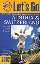 Let's Go Austria and Switzerland 2002…