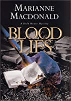 Blood Lies by Marianne Macdonald