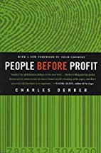 People Before Profit: The New Globalization…