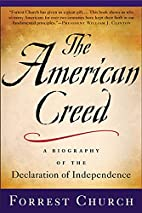 The American Creed: A Spiritual and…