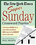 The New York Times Super Sunday Crossword…