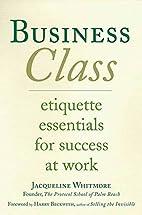 Business Class: Etiquette Essentials for…