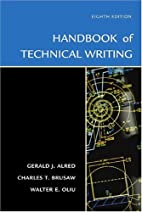 Handbook of Technical Writing by Gerald J.…