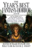 Ellen Datlow: The Year's Best Fantasy and Horror 2008: 21st Annual Collection (Year's Best Fantasy & Horror)