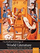 Bedford Anthology of World Literature Vol.…