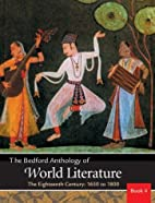 Bedford Anthology of World Literature Vol.…