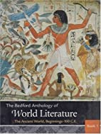 Bedford Anthology of World Literature Pack A…