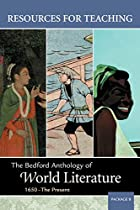 Resources for Teaching The Bedford Anthology…