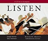 Kerman, Joseph: A 3-Cd Set to Accompany Listen, Brief
