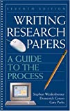 Caruso, Domenick: Writing Research Papers: A Guide To The Process