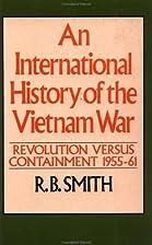 An International History of the Vietnam War:…