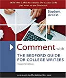 Kennedy, X. J.: Comment for The Bedford Guide for College Writers