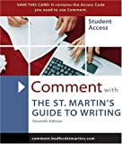 Axelrod, Rise B.: Comment for St. Martin's Guide to Writing
