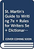 Axelrod, Rise B.: St. Martin's Guide to Writing 7e and Rules for Writers 5e and paperback: dictionary and paperback thesaurus
