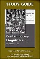 Contemporary Linguistics 5e & Study Guide by…